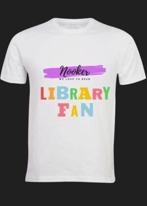 Library Fan – T-shirt